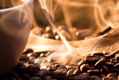 Lvov gorod s aromatom kofe